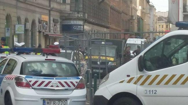 Tüzérségi lövedék miatt zárták le Budapest egyik legforgalmasabb útját