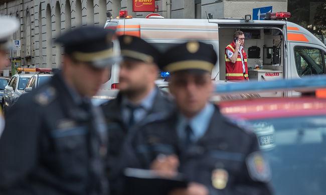 Rendőrök lepték el Budapestet, lövedéket találtak - képgaléria
