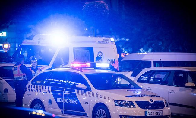 Így nézett ki a budapesti robbanás helyszíne - képgaléria