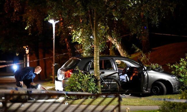 Maszkos motorosok lövöldöztek Malmőben