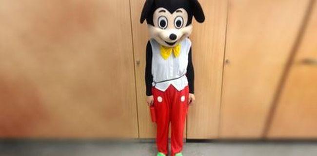 Elkapták a rendőrök Miki egeret