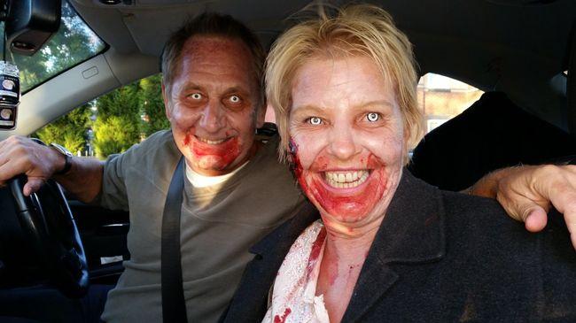 Megállították, mert véres szájjal harapdálta a nőt az autópályán