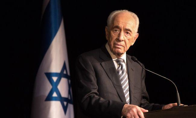 Agyvérzést kapott, két hét elteltével meghalt Simon Peresz
