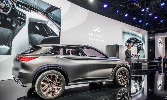 QX Sport Inspiráció: Az új, merész SUV vízió az Infinititől