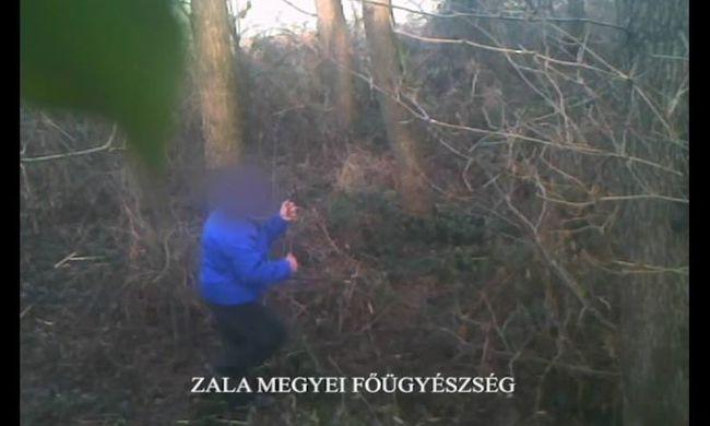 Kamera előtt barkácsolt hurkot a botcsinálta zalai orvvadász - videó