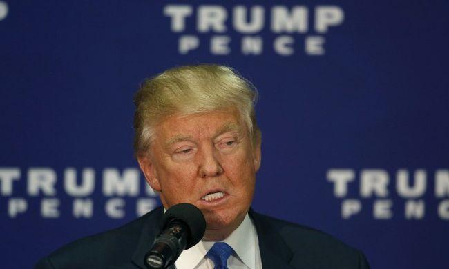 Megdöbbentő bejelentést tett Donald Trump!