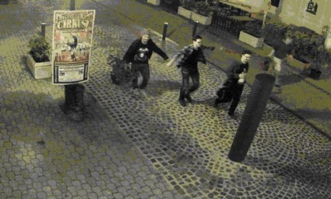 Így vandálkodtak a magyar fiatalok a belvárosban, felvette őket a kamera