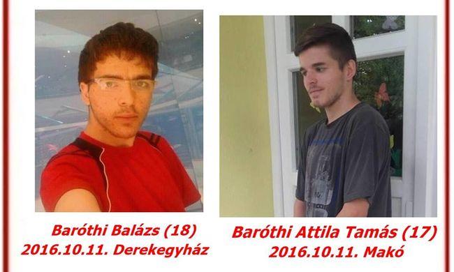 Eltűnt Baróthi Balázs