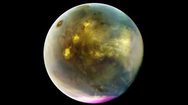 Lenyűgöző videó: felhőt ont az izzó Mars