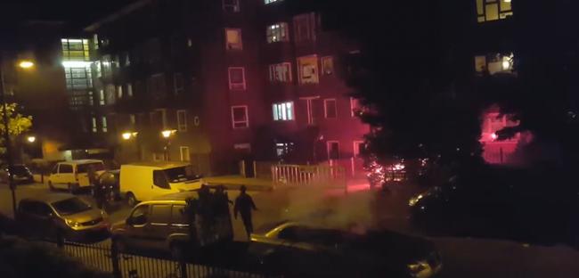 Tűzijátékkal lőttek le egy biciklist