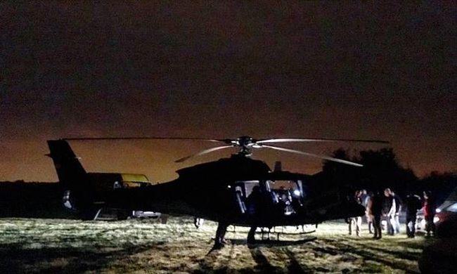 Kiderült: ezért körözött helikopter Budapest felett