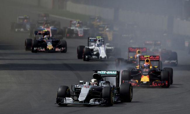 Elmaradt a bajnokavatás - Hamilton nyert Mexikóban