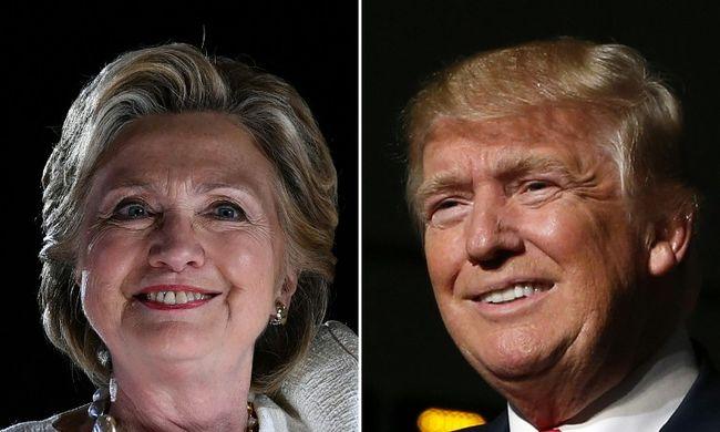 Elbuktak a közvéleménykutatók: Trump lesz az új elnök, Clinton hallgat