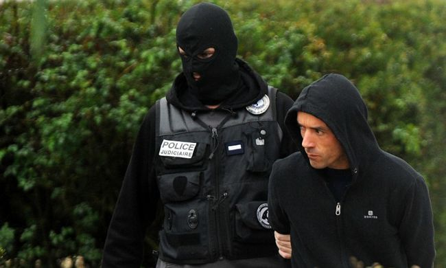 Franciaországban bujkált a rettegett terroristavezér