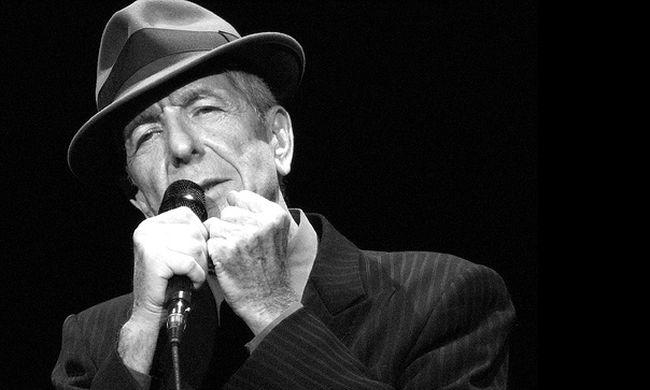 Így írt nyáron, közelgő haláláról Leonard Cohen