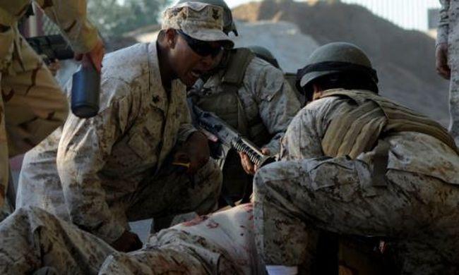Robbanás a katonai bázison, sok halott