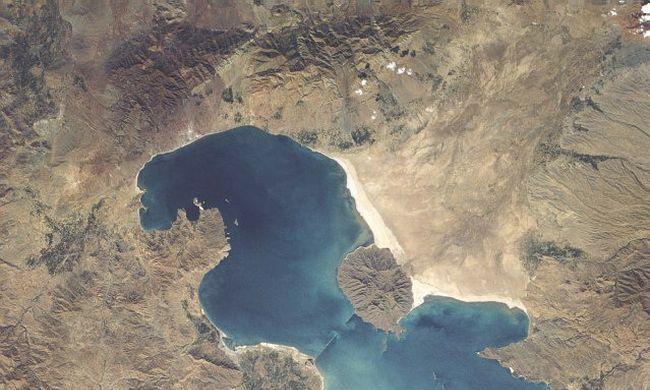 Kiszárad a világ egyik legnagyobb sós tava