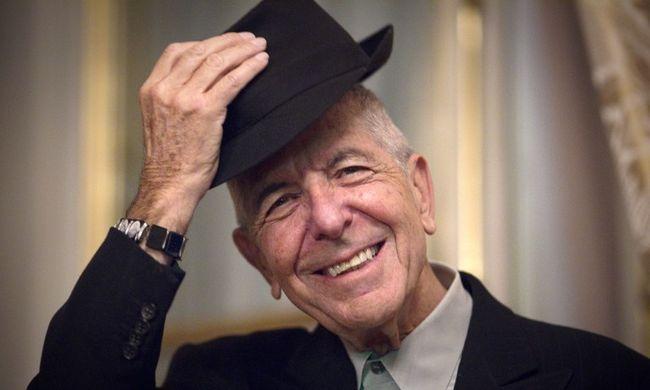 Így halt meg Leonard Cohen