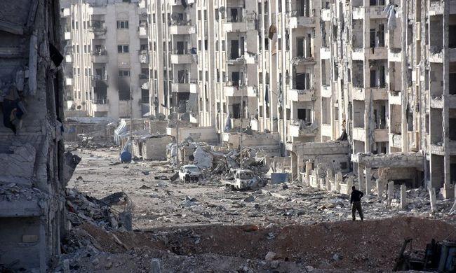 """""""Kifogytunk a hullazsákokból"""" - katasztrofális a helyzet Szíriában"""