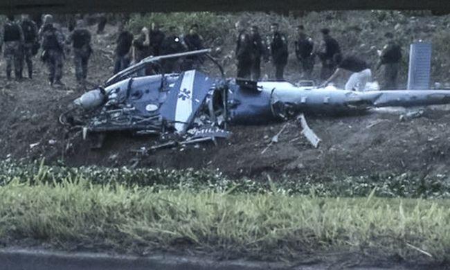 Drograzzia során zuhant le egy helikopter