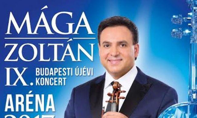 Világsztárok Mága Zoltán IX. Budapesti Újévi Koncertjén!