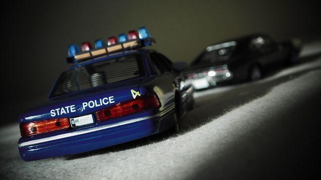 Rendőrautónak próbálta álcázni a kocsiját Ausztráliában egy nő