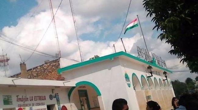 Kínos: mexikói helyett magyar zászlót húztak fel az ünnepségen
