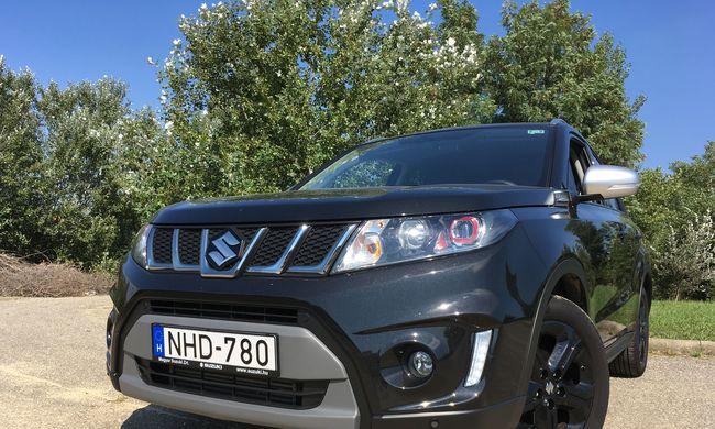 Suzuki Vitara S teszt: a legerősebb esztergomi
