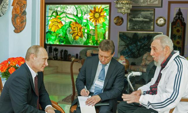 Megszólalt Putyin, ezt mondta Castróról