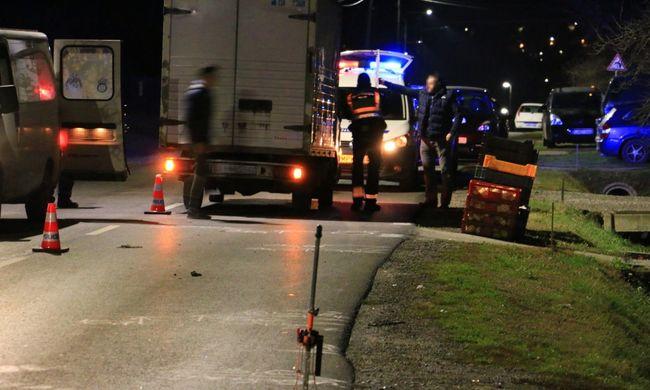 Halálra gázoltak egy gyalogost Kaposváron - videó