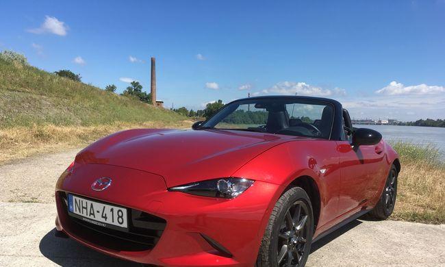 Mazda MX-5 teszt: életrevaló