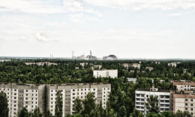 Szomorú hír jött: tűz ütött ki Csernobilban