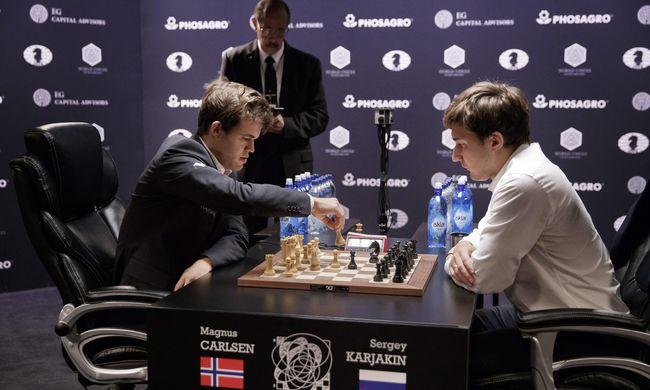 Exkluzív: végső csapás, Carlsen lett a világbajnok!