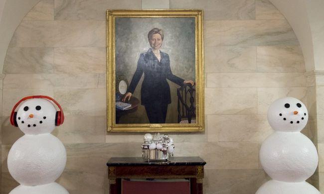 A Fehér Házban karácsonyozik Hillary Clinton?