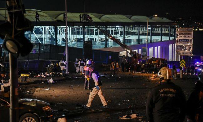 Terrortámadás történt Isztambulban