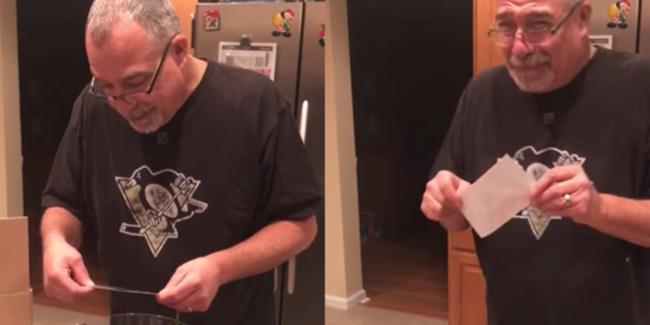 Megható videó: sírva fakadt az apuka élete legszebb ajándéka láttán