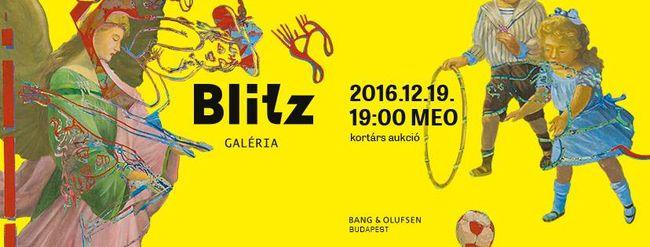 Hajós András tárlatvezetésével indult a Blitz Galéria téli aukciója