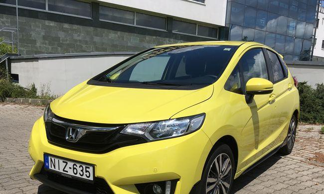 Honda Jazz teszt: hozza a formát