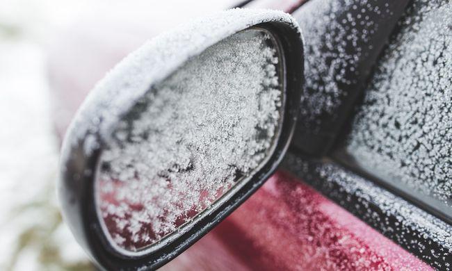1 éves gyerek ragadt a hideg kocsiban Szegeden