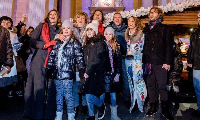 Hazai sztárdömping egy jótékonysági flashmobon a Bazilikánál