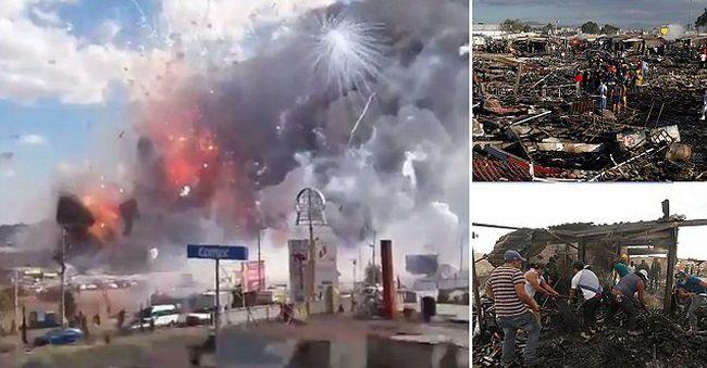 Tűzijátékok robbantak fel a piacon, 27 ember meghalt