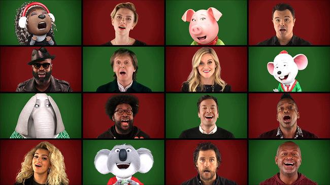 Varázslatos köntöst kapott a híres karácsonyi dal - videó