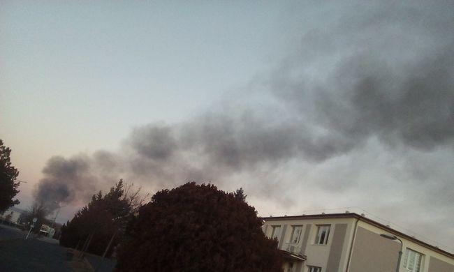 Vegyi anyag robbanhatott be Balatonfűzfőn