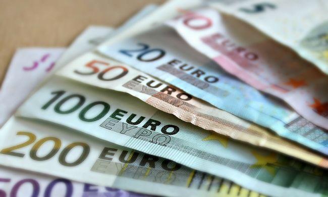 Az eurónak annyi