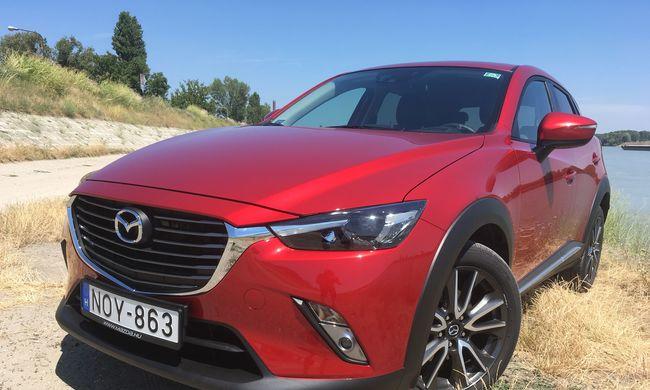 Mazda CX-3 teszt: ilyen Mazda lennék