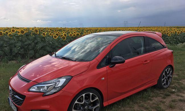 Opel Corsa OPC teszt: egy kis piros bombázó