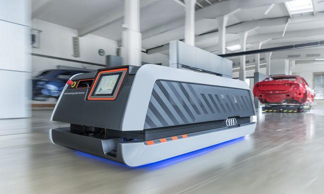 Okos gyárak, okos autók: a jövő már jelen az Audinál