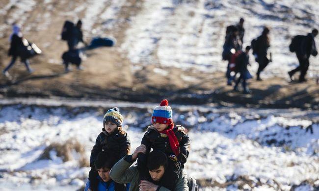 Fagyhalál vár a migránsokra