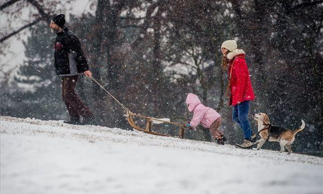 Front érkezik: havat és kemény mínuszokat hoz magával