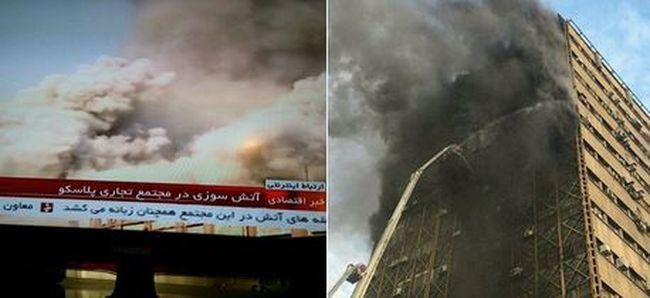 Több tucat tűzoltó meghalt, amikor munka közben rájuk omlott egy ház